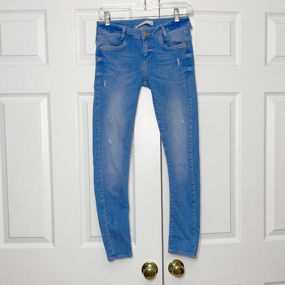 Zara women's skinny jeans